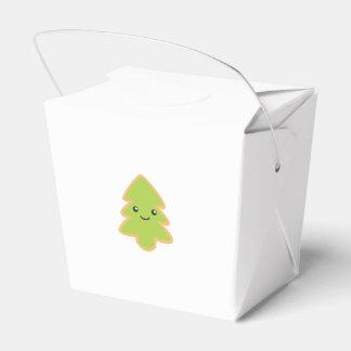 クリスマスツリーのクッキー フェイバーボックス