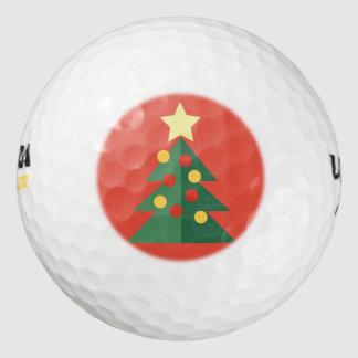 クリスマスツリーのゴルフ・ボール ゴルフボール