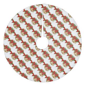 クリスマスツリーのスカートかクリスマス鐘 フリース ツリースカート