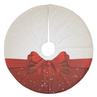クリスマスツリーのスカートか弓 フリース ツリースカート