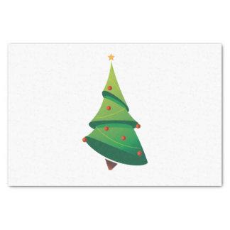 クリスマスツリーのティッシュペーパー 薄葉紙