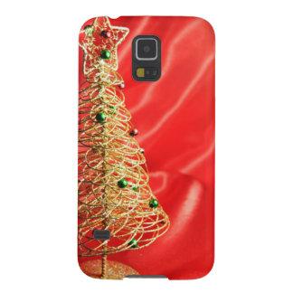 クリスマスツリーのデザイン GALAXY S5 ケース