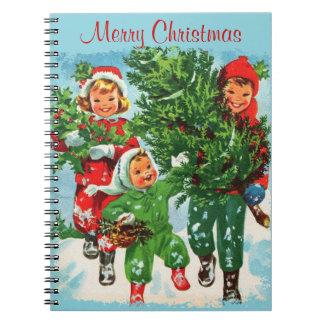 クリスマスツリーのノートを得ること ノートブック