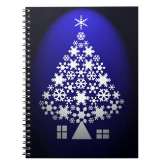 クリスマスツリーのノート ノートブック