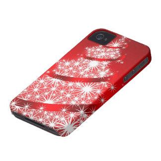 クリスマスツリーのブラックベリーのはっきりしたな9700/9780の箱 Case-Mate iPhone 4 ケース