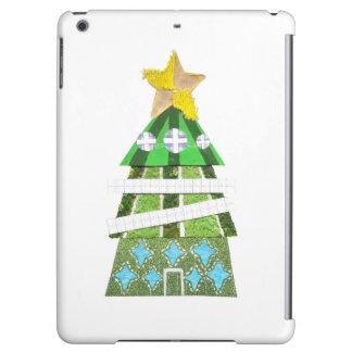 クリスマスツリーのホテルの私パッドの空気背部 iPad AIRケース
