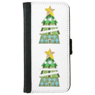 クリスマスツリーのホテルの私電話6/6sウォレットケース iPhone 6/6s ウォレットケース