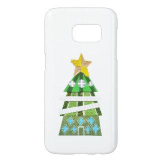 クリスマスツリーのホテルのSamsungの銀河系S7の箱 Samsung Galaxy S7 ケース
