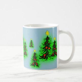 クリスマスツリーのマグ コーヒーマグカップ