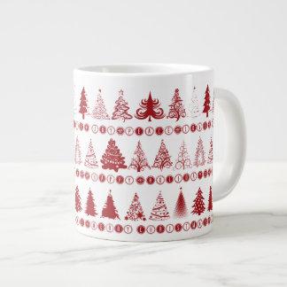 クリスマスツリーのマグ ジャンボコーヒーマグカップ