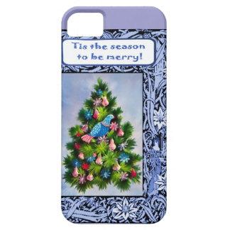 クリスマスツリーのヤマウズラ iPhone SE/5/5s ケース
