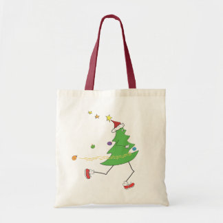クリスマスツリーのランナー トートバッグ