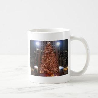 クリスマスツリーのロックフェラーの中心 コーヒーマグカップ