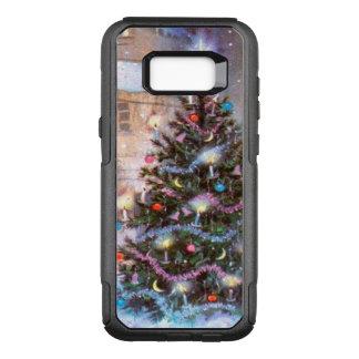 クリスマスツリーのヴィンテージ オッターボックスコミューターSamsung GALAXY S8+ ケース