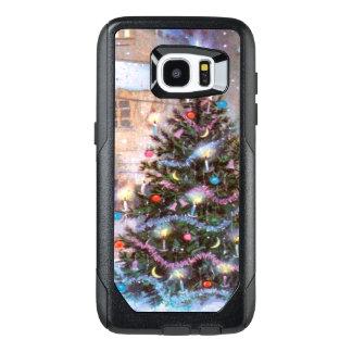 クリスマスツリーのヴィンテージ オッターボックスSamsung GALAXY S7 EDGEケース