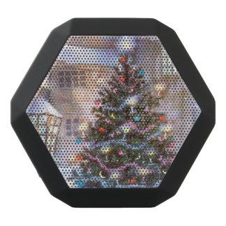 クリスマスツリーのヴィンテージ ブラックBluetoothスピーカー