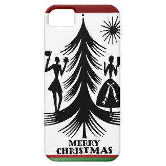 クリスマスツリーの人々 iPhone SE/5/5s ケース