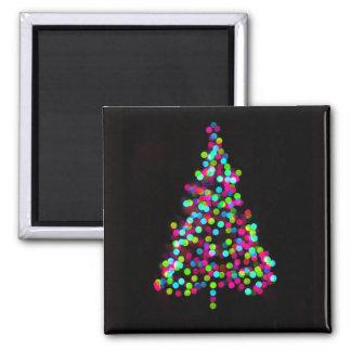 クリスマスツリーの宝石 マグネット