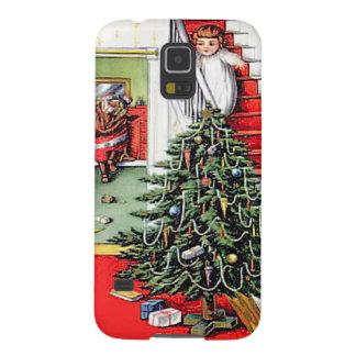 クリスマスツリーの時間 GALAXY S5 ケース