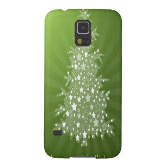 クリスマスツリーの無料サービスのデザイン GALAXY S5 ケース