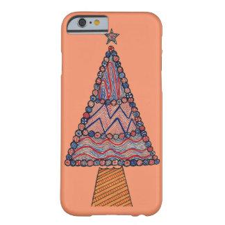 クリスマスツリーの箱 BARELY THERE iPhone 6 ケース