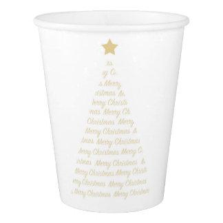 クリスマスツリーの紙コップ 紙コップ