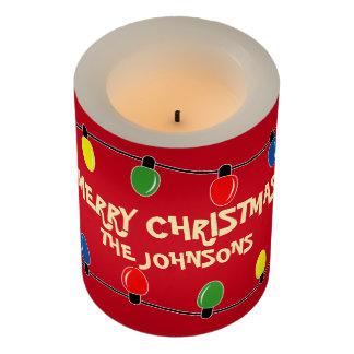 クリスマスツリーの電球の休日LEDの蝋燭のギフト LEDキャンドル
