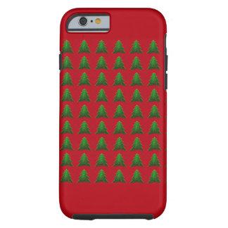 クリスマスツリーの電話箱 ケース