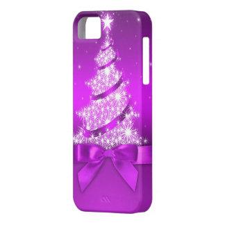 クリスマスツリーのiPhone 5カバー iPhone SE/5/5s ケース