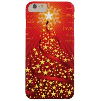 クリスマスツリーのiPhone 6のプラスの場合 Barely There iPhone 6 Plus ケース