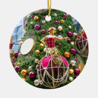 クリスマスツリーのmanniquins セラミックオーナメント