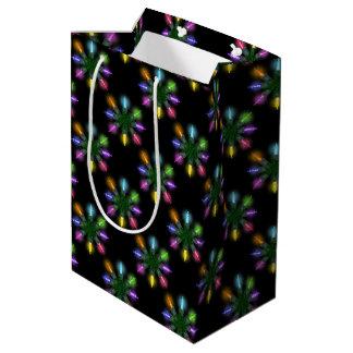 クリスマスツリーはパターンをつけます ミディアムペーパーバッグ