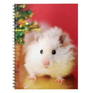 クリスマスツリーを持つハムスターKokolinka ノートブック