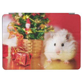 クリスマスツリーを持つハムスターKokolinka iPad Air カバー