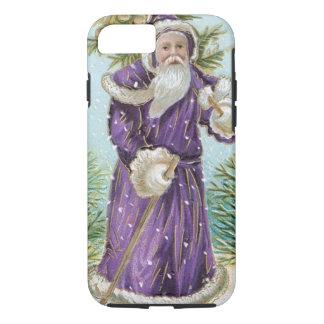 クリスマスツリーを運んでいるサンタ iPhone 8/7ケース