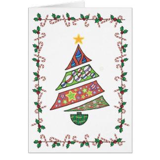 クリスマスツリーカード カード