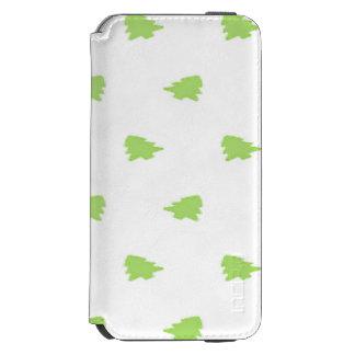 クリスマスツリーパターン iPhone 6/6Sウォレットケース
