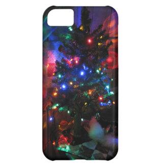 クリスマスツリーライト iPhone5Cケース
