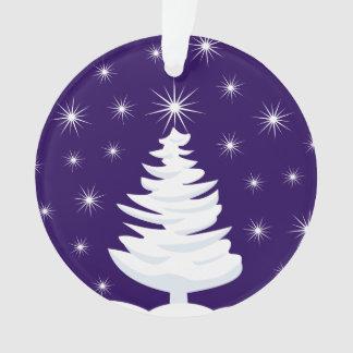 クリスマスツリー及び逆転する星の円のオーナメント オーナメント