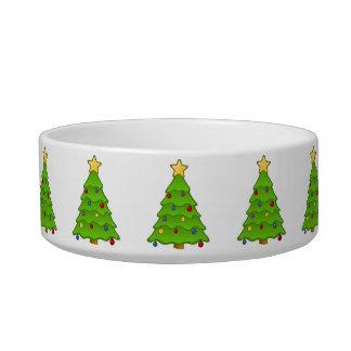 クリスマスツリー猫ボール ボウル