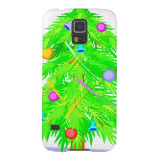 クリスマスツリー2 GALAXY S5 ケース