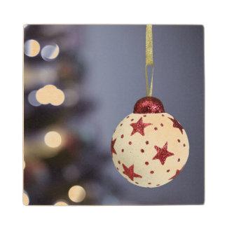 クリスマスツリー ウッドコースター