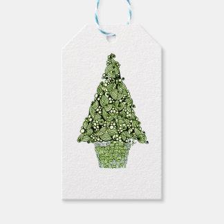 クリスマスツリー ギフトタグ