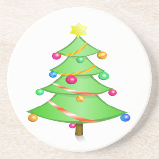 クリスマスツリー コースター