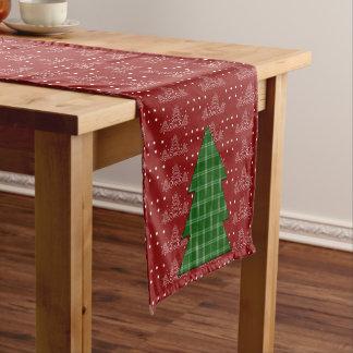 クリスマスツリー ショートテーブルランナー