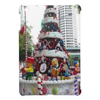 クリスマスツリー、シンガポール iPad MINIケース