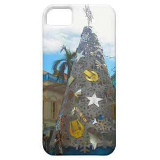 クリスマスツリー、シンガポール iPhone SE/5/5s ケース
