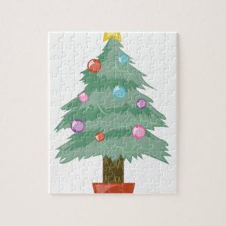 クリスマスツリー ジグソーパズル