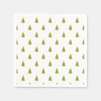 クリスマスツリー スタンダードカクテルナプキン