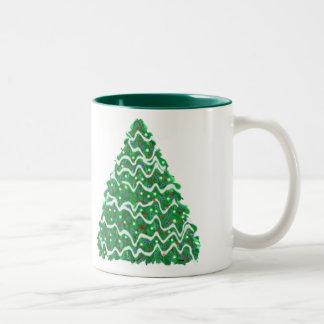 クリスマスツリー ツートーンマグカップ